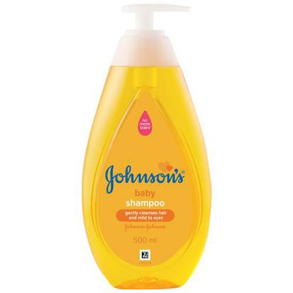 Picture of Johnson & Johnson No More Tears Baby Shampoo, 500 ml