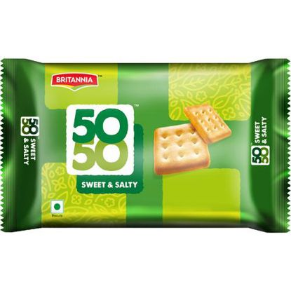 Picture of Britannia 50-50 Sweet & Salty Biscuits, 150 g