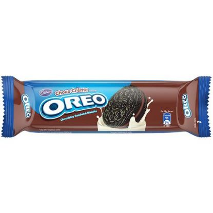 Picture of Cadbury Oreo Creme Biscuit - Chocolate, 120 g