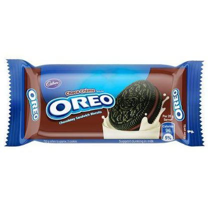Picture of Cadbury Oreo Creme Biscuit - Chocolate, 46.3 g