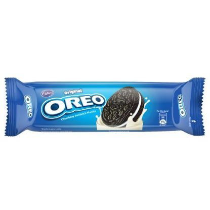 Picture of Cadbury Oreo Creme Biscuit - Vanilla, Original, 120 g