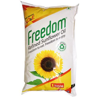 Picture of Freedom Refined Oil - Sunflower, 1 L Pouch