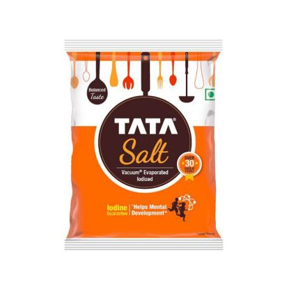 Picture of Tata Salt Iodized, 1 kg Pouch