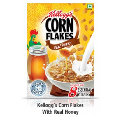 Picture of Kelloggs Honey Crunch Corn Flakes, 300 g