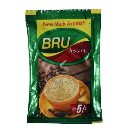 Picture of Bru Instant Coffee - Five Rupee packet