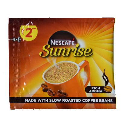 Picture of Nescafe Sunrise Instant Coffee - Chicory Mixture, Two Rupees Packet
