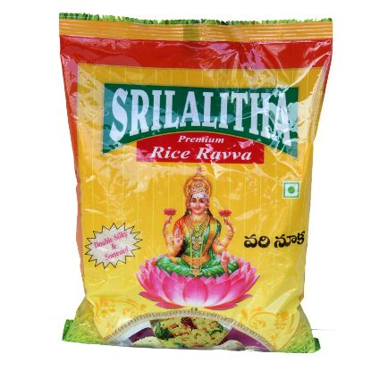 Picture of Sri Lalitha Biyyapu Ravva (Rice Ravva), 500 g