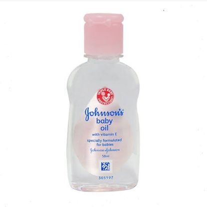Picture of Johnson & Johnson Baby Oil With Vitamin E, 50 ml