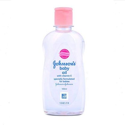Picture of Johnson & Johnson Baby Oil With Vitamin E, 200 ml