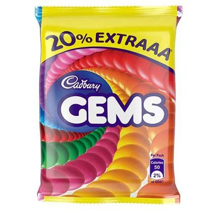 Picture of Cadbury Gems - Five Rupee Pouch