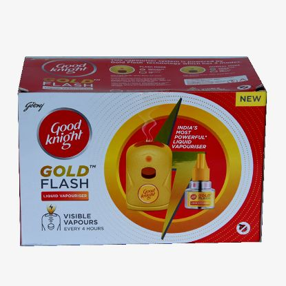 Picture of Good knight Gold Flash Combo, Mahine+Refill 45ml