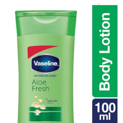 Picture of Vaseline Intensive Care Aloe Fresh Body Lotion, 100 ml