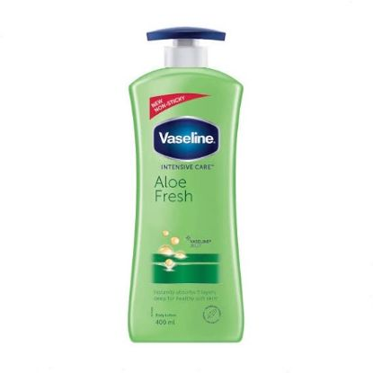 Picture of Vaseline Intensive Care Aloe Fresh Body Lotion, 400 ml