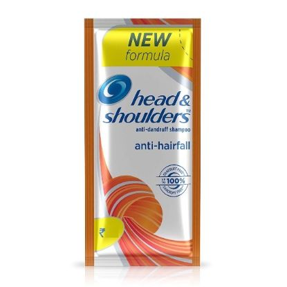 Picture of Head & Shoulder Anti-Dandruff Shampoo - Anti Hairfall, 2 Rupees Packets