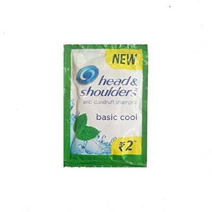 Picture of Head & Shoulder Anti-Dandruff Shampoo - Cool Menthol, 2 Rupees Packets