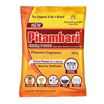 Picture of Pitambari Shinning Powder For 6 types Metal, 200 g