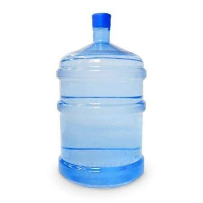 Picture of Plastic Empty Water Can (Blue Color) - 20L Capacity