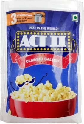 Picture of ACT II Classic Salted Popcorn, 75 g