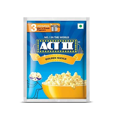 Picture of ACT II Golden Sizzle Popcorn, 75 g